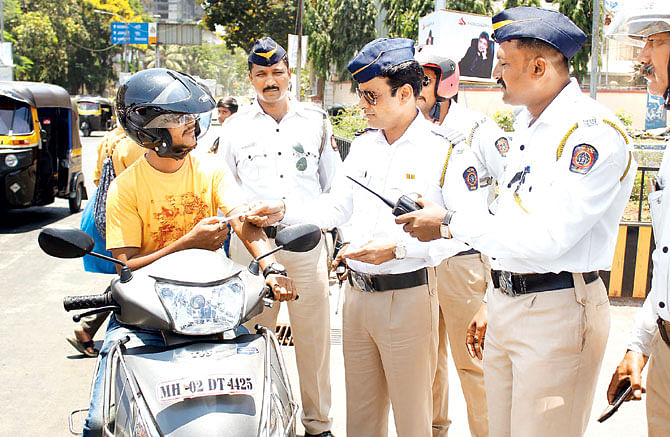'Special' force for Mumbai traffic cops