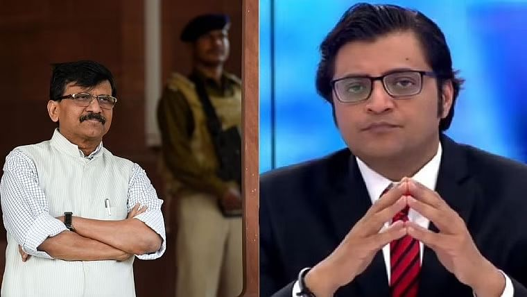 'Law is followed in Maharashtra': Sanjay Raut on Arnab Goswami's arrest in 2018 suicide case