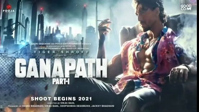 Tiger Shroff unveils intriguing poster of upcoming thriller 'Ganapath'