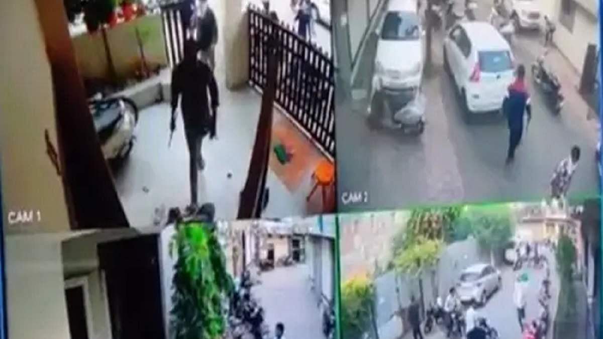Indore: Two arrested for attacking BJP leader Gopi Krishna Nema's house