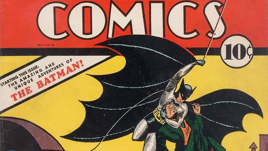Comic which introduced the world to 'Dark Knight' fetches $1.5m