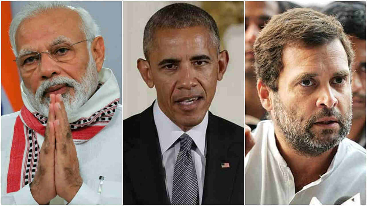Obama's views on PM Modi and Rahul Gandhi
