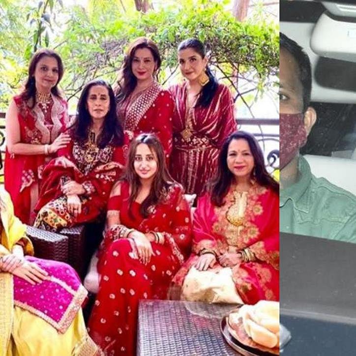 Unseen Pics: Natasha Dalal fasts on her first Karva Chauth for beau Varun Dhawan