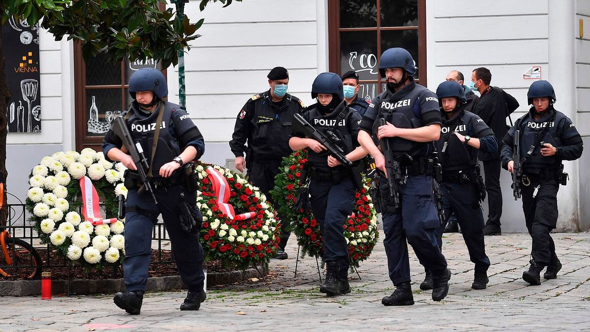 Five dead, 17 wounded in a terrorist attack in Austria's Vienna