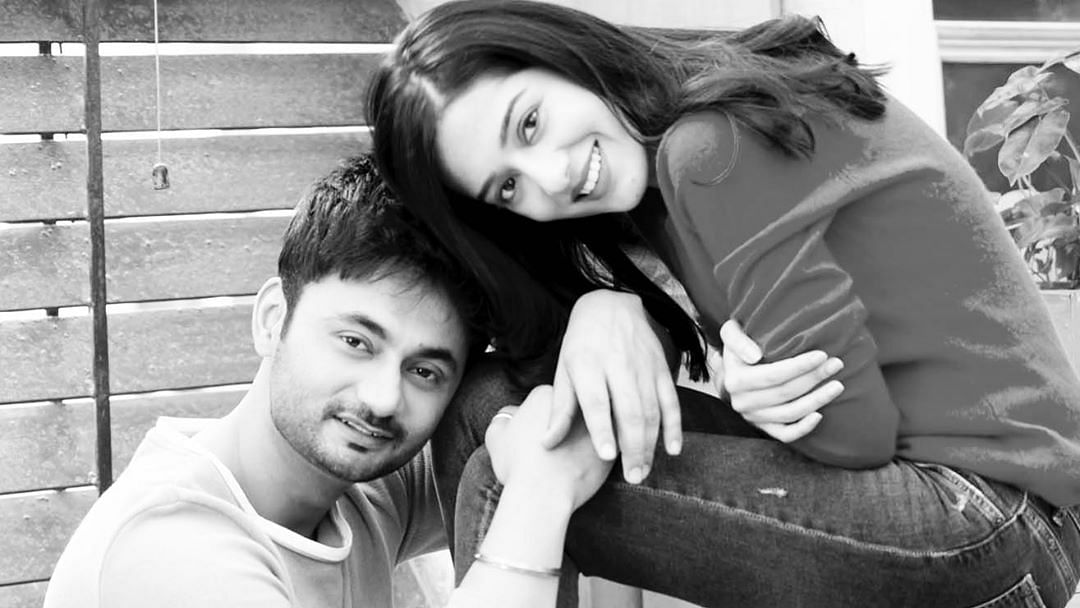 'Hello world, meet our son': Amrita Rao, RJ Anmol share picture of their new born, reveal his name