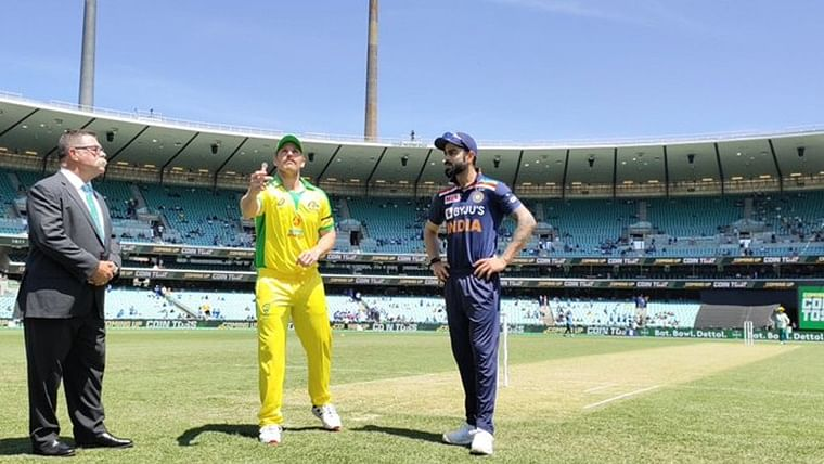 India vs Australia 1st ODI: Australia wins toss, opts to bat first against India at Sydney