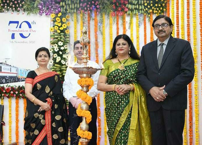 Western Railway celebrates 70th Foundation Day with elegance & glory