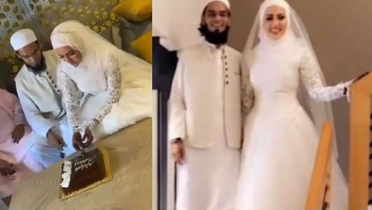 Former Bigg Boss contestant Sana Khan ties the knot with Mufti Anas