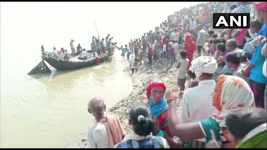Bihar: 1 dead, 7 missing after boat carrying 100 people capsizes in Bhagalpur