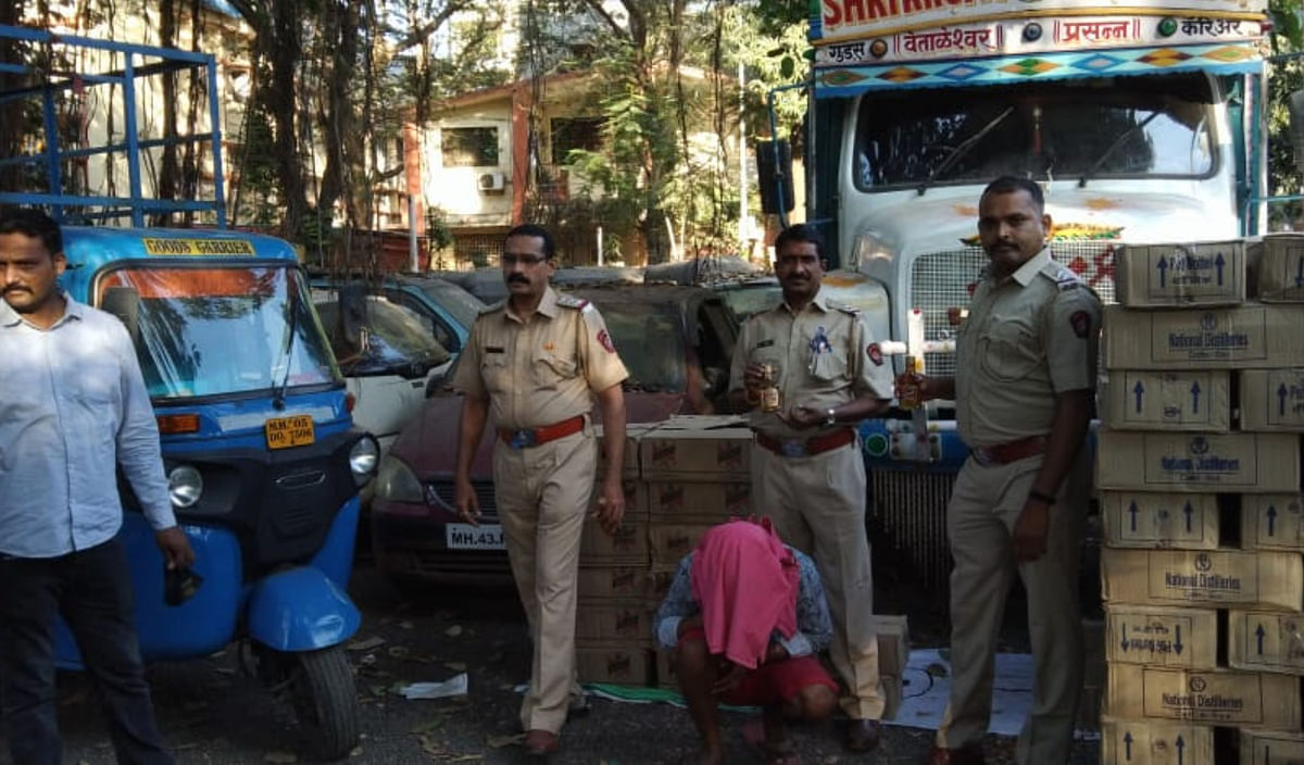 Thane: Foreign liquor worth Rs 18.21 lakh seized from Dombivli