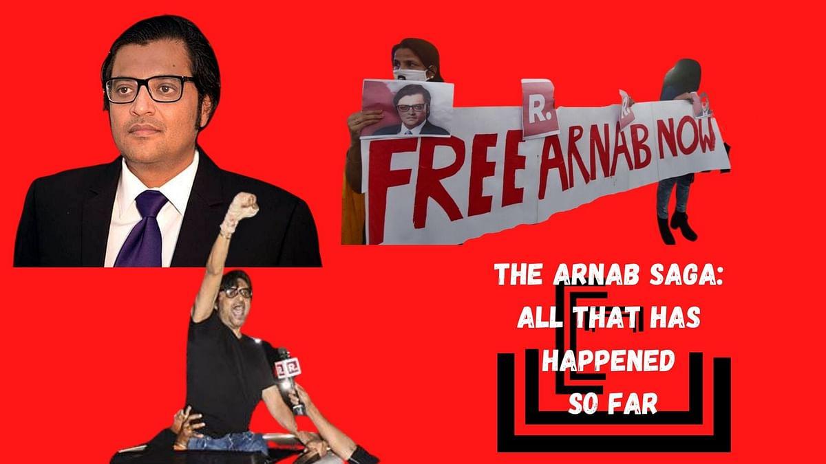 The Arnab Goswami saga: How it unfolded?