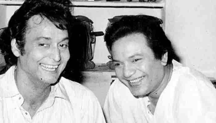 Soumitra Chatterjee with Uttam Kumar