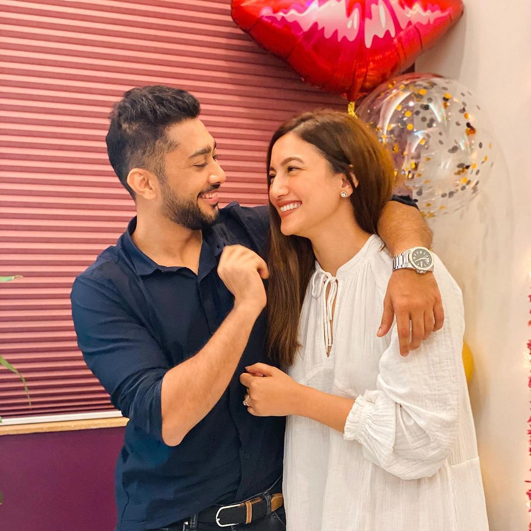 Watch: Zaid Darbar reveals how Gauahar Khan 'literally fell in' love with him