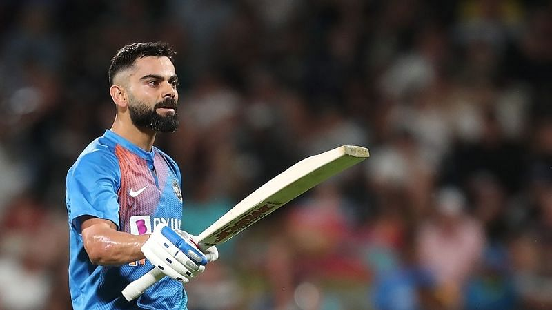 Virat Kohli slams 58-ball 91 as his team CK Nayudu XI defeats KL Rahul's Ranjitsinhji XI in warm-up match