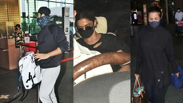 In Pics: Ranbir Kapoor, Deepika Padukone, Malaika Arora and others captured by shutterbugs in Mumbai