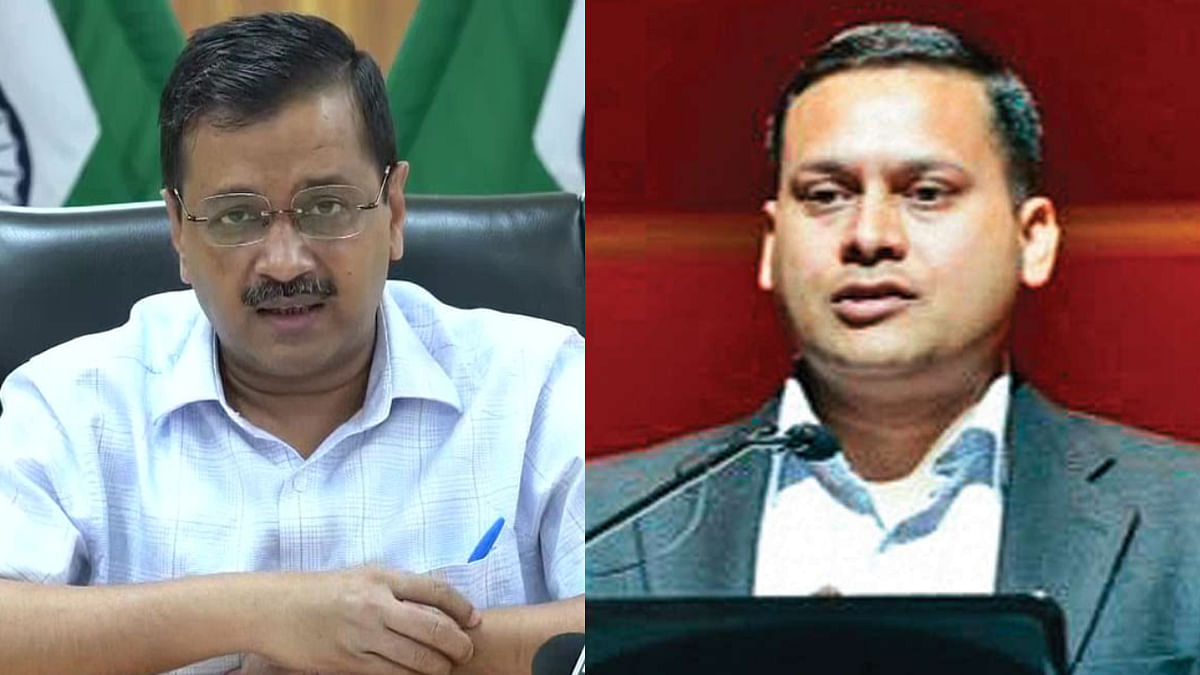 BJP's IT Cell head Amit Malviya (R) noted that the Delhi CM Arvind Kejriwal (L) has already notified these Acts and begun implementing them in the national capital.
