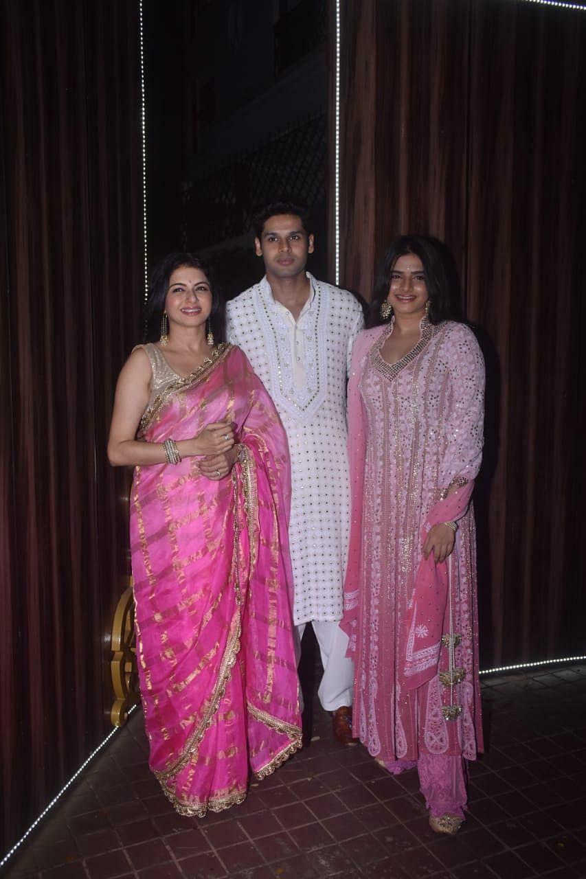 Bhagyshree, Abhimanyu, Avantika dassani snapped in Juhu