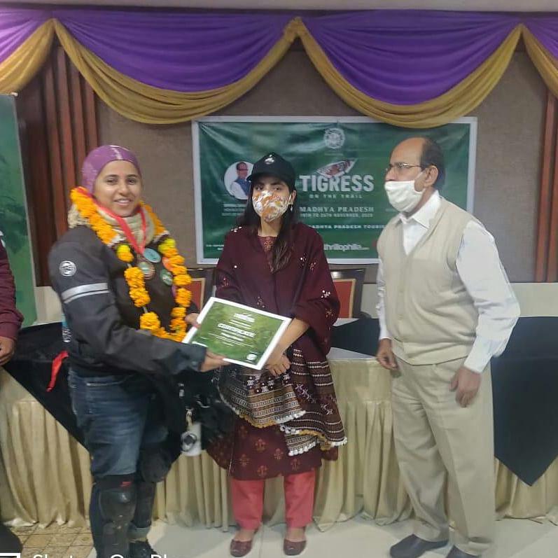 Tigress on the Trail: 15 women bikers return after 1500-km journey in MP