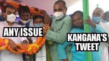 #DaadiSeMaafiMangKangana trends on Twitter as netizens seek actor's apology over tweet on farmers' protest