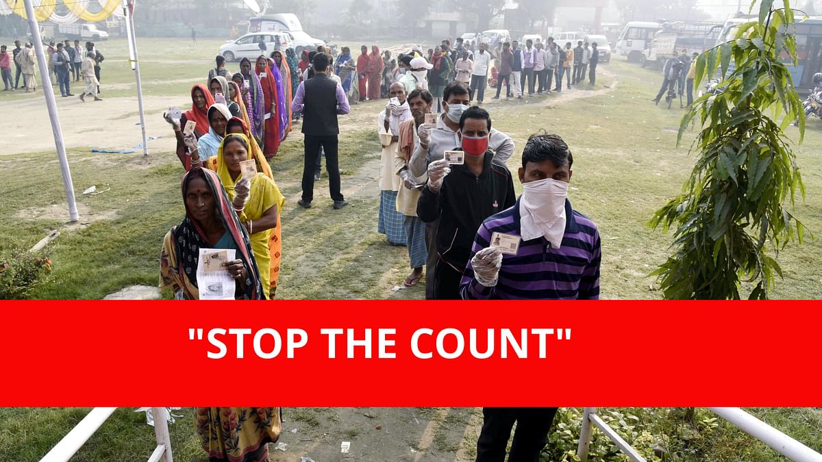Bihar Assembly Polls 2020: Netizens invoke Donald Trump's 'STOP THE COUNT' tweet