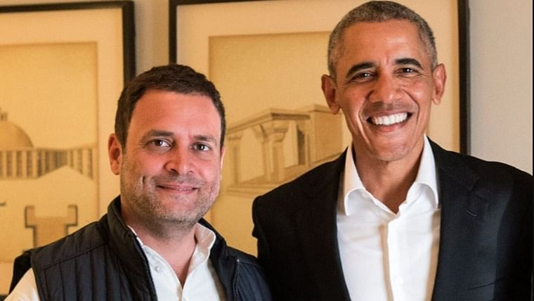 Rahul Gandhi and Barack Obama
