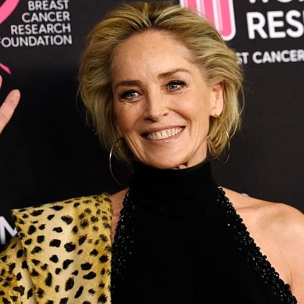 Sharon Stone's unwind therapy: Good bath, yoga, colouring books