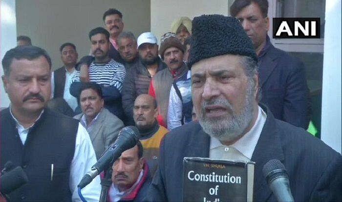 PDP founder member Muzaffar Hussain Baig quits party