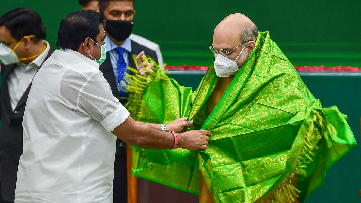 Amit Shah inaugurates projects worth Rs 67,000 crore in Tamil Nadu