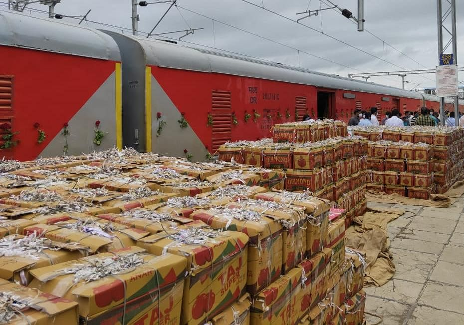 Central Railway plays an important role in transporting freight and parcel