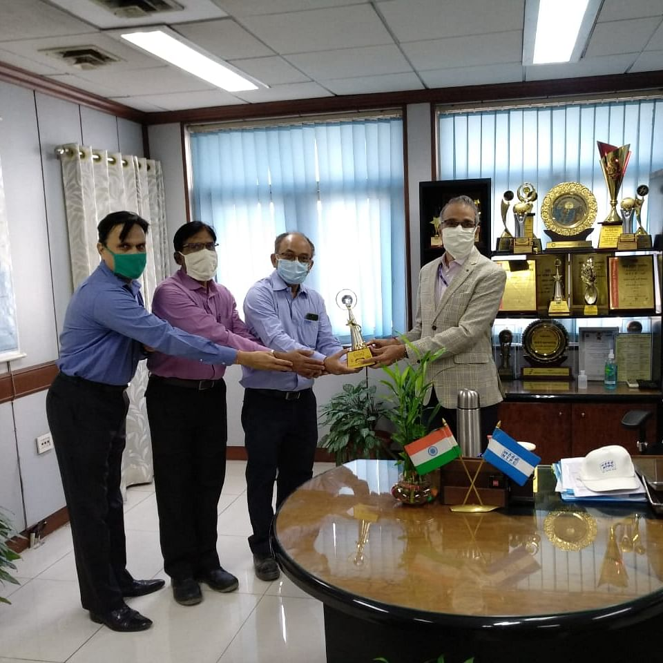 NTPC Dadri bags award for implementation of new environmental norms at the power station