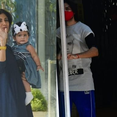 In Pics: Shilpa Shetty steps out with daughter Samisha; Kartik Aaryan, Janhvi Kapoor bond over Pilates