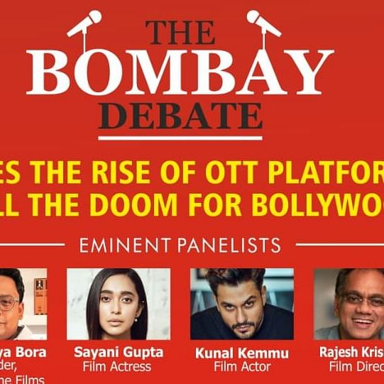 Does the rise of OTT platforms threaten cinema? When and where to watch Bollywood celebs on 'The Bombay Debate'