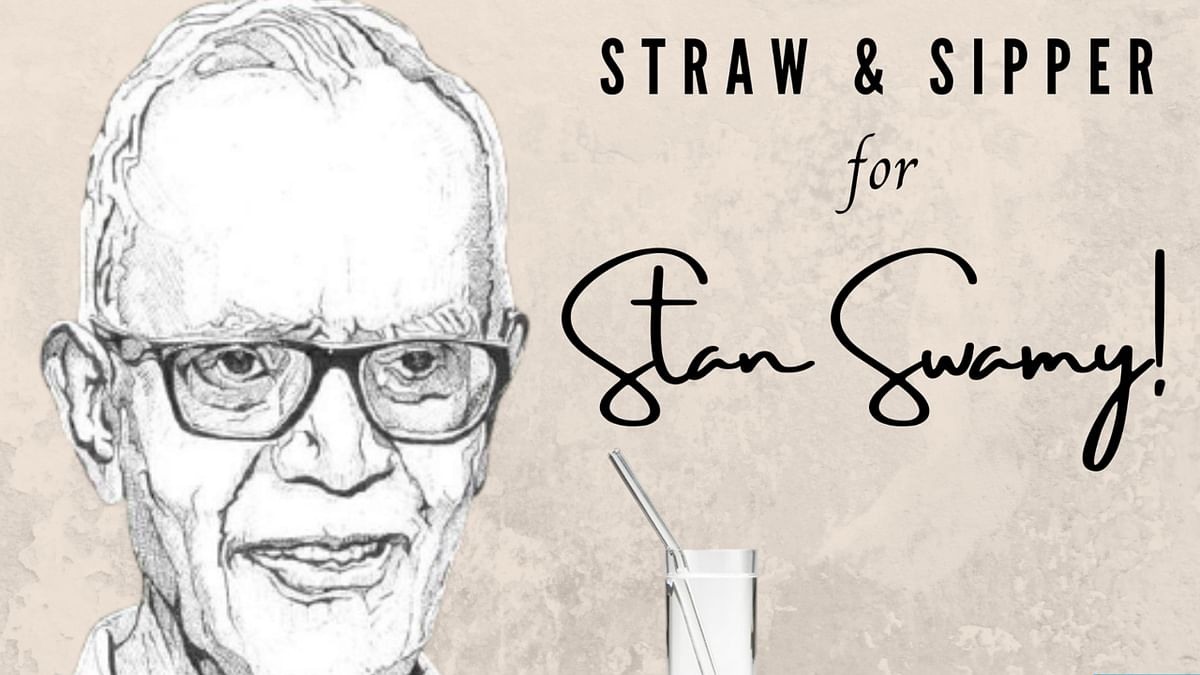 FPJ Explains: Here's why netizens are ordering 'straw and sipper' for jailed activist Stan Swamy
