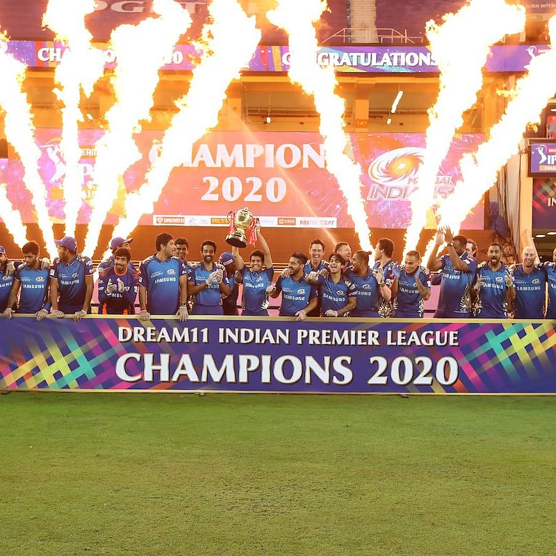Mumbai Indians break the 'even-year' curse to lift record-fifth IPL trophy in 2020