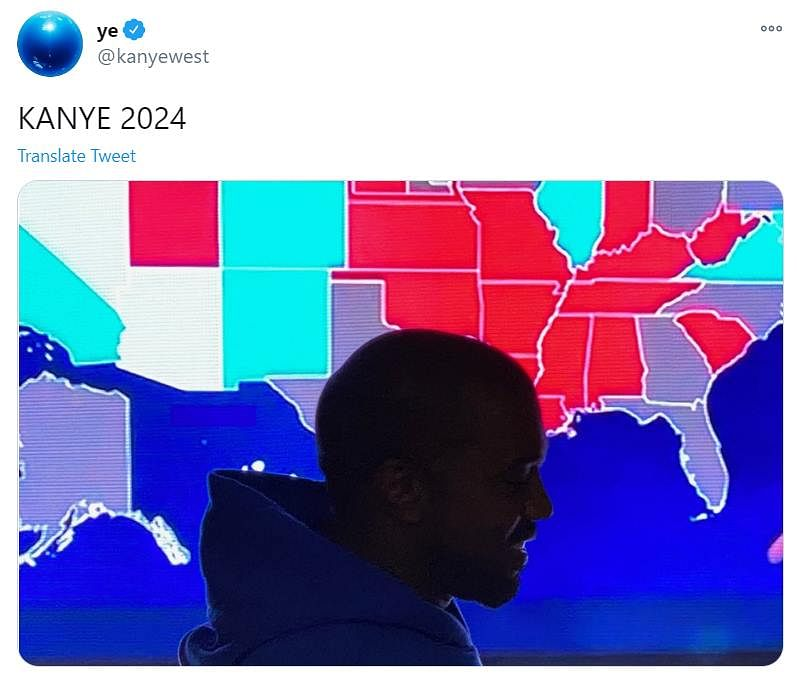 Kanye West concedes defeat after getting only 57,000 votes; eyes at 2024 US Presidential elections