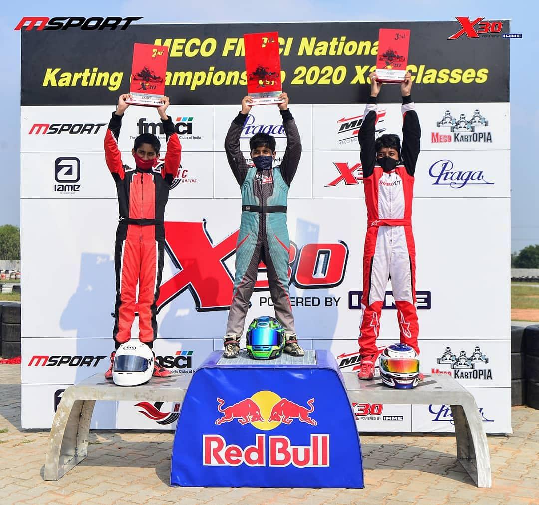 Bangalore racers rock in National Karting Championship