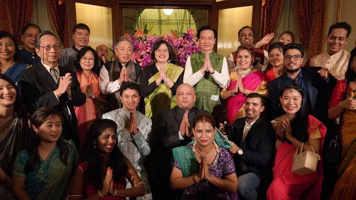 Taiwan government holds Diwali celebrations