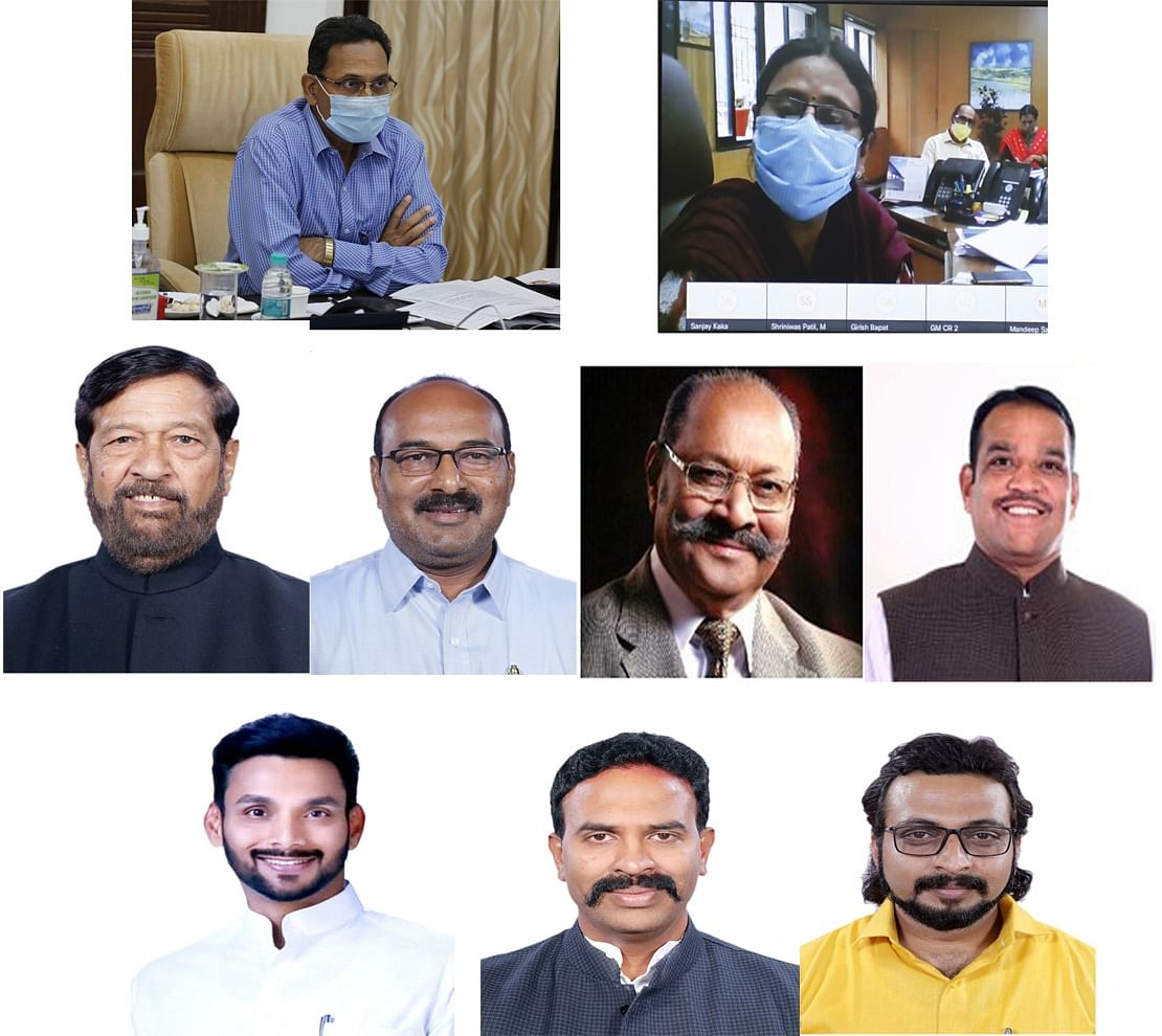 Central Railway General Manager meets Pune Division Members of Parliament through webinar