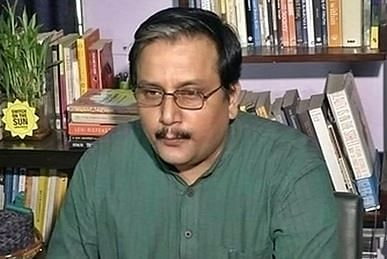 RJD leader Manoj Jha
