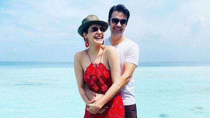 In Pics: Kajal Aggarwal, Gautam Kitchlu give fans sneak peek into their honeymoon in Maldives
