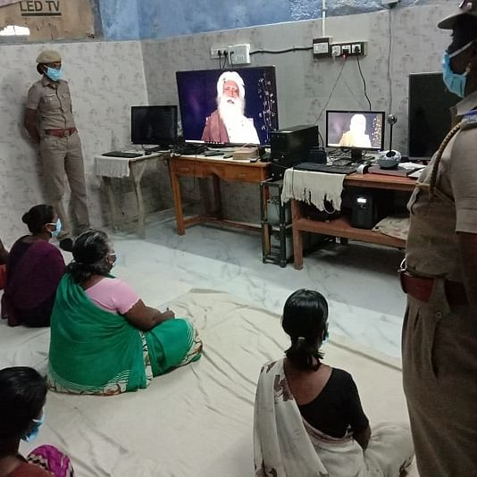 'There is always a place in my heart for you': Sadhguru tells inmates of Tamil Nadu prisons