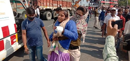 Ujjain: 1 killed, 19 labourers injured in accident