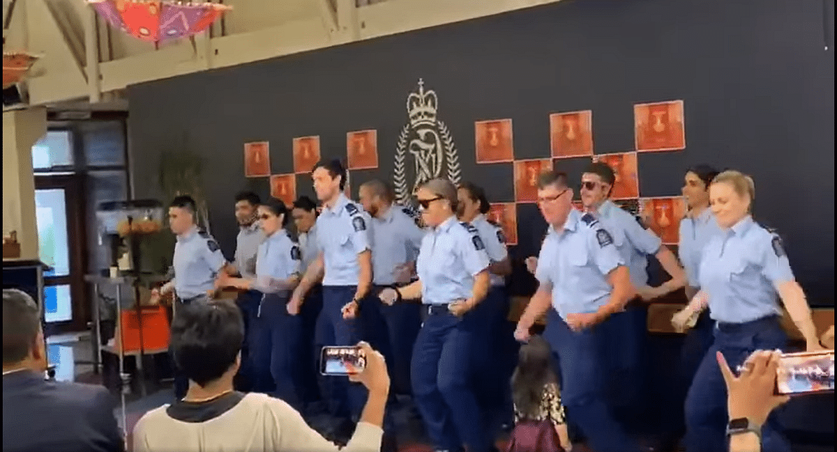 Video you don't want to miss: New Zealand cops' dance on 'Kala Chashma' sets Indian Twitter on fire