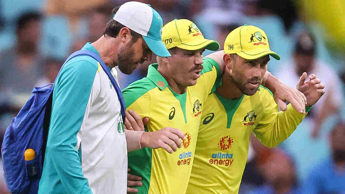 Set back for Australia as Warner ruled out, Cummins rested for rest of limited-overs series against India