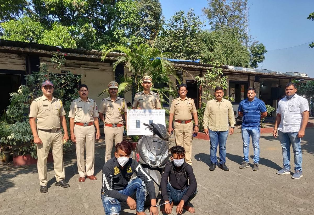 Thane: Two arrested for mobile thefts in Bhiwandi
