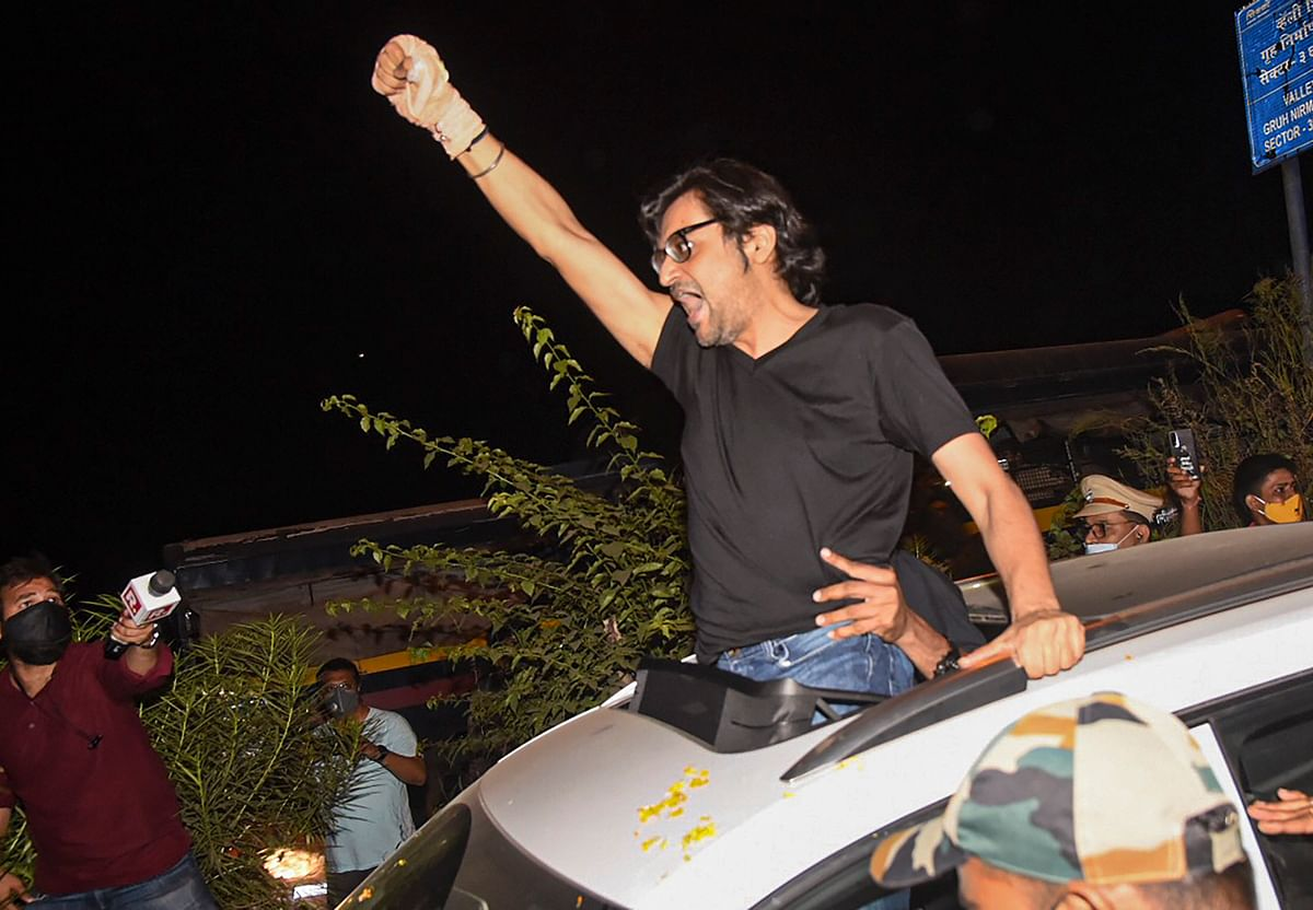 Arnab Goswami is out of jail after SC grants interim bail
