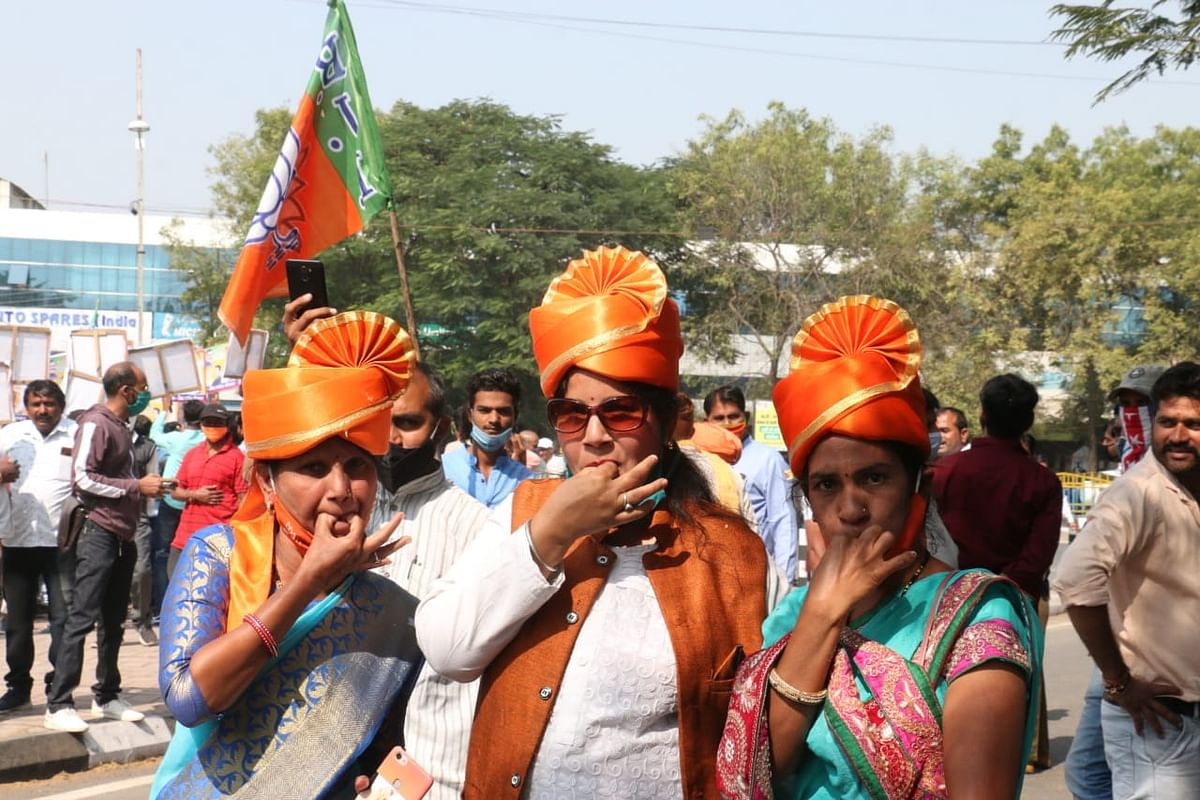 MP Bypoll Results: BJP celebrating from morning as Tulsi Silawat powered ahead
