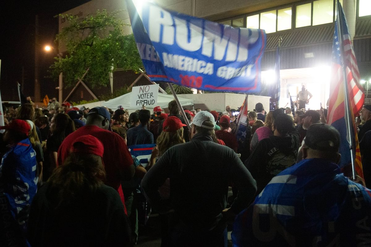 US Elections 2020: Gun-totting Trump supporters protest in Arizona claiming election fraud - Here's all you need know