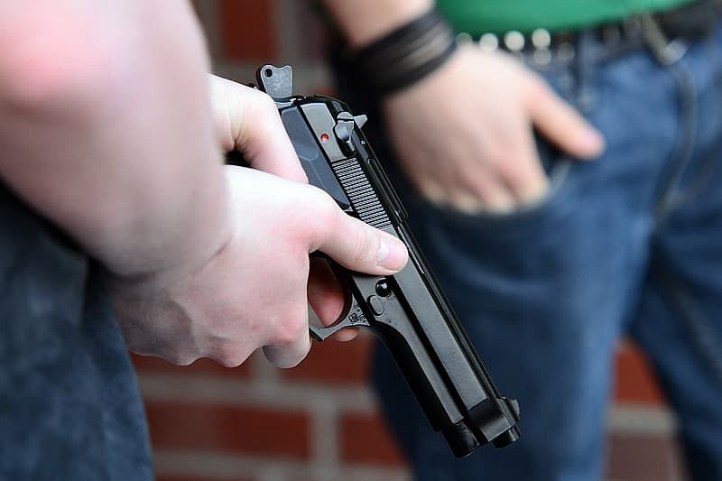 Two held for firing at a developer in Bandra