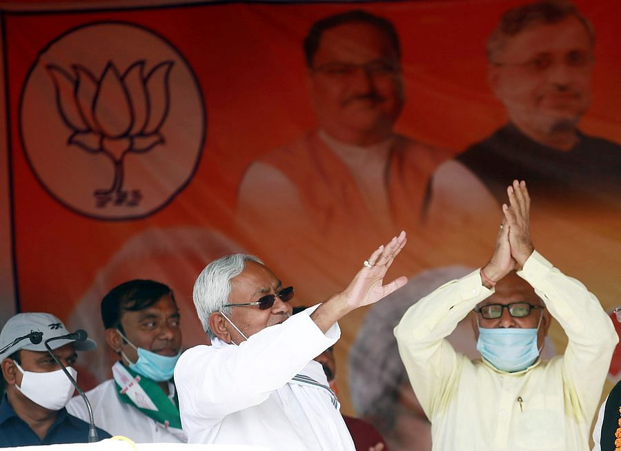 Bihar Chief Minister & JDU national president Nitish Kumar